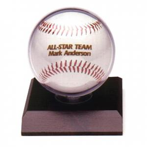 Personalized Baseball with Case
