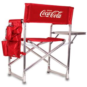 Coca-Cola Folding Sports Chair